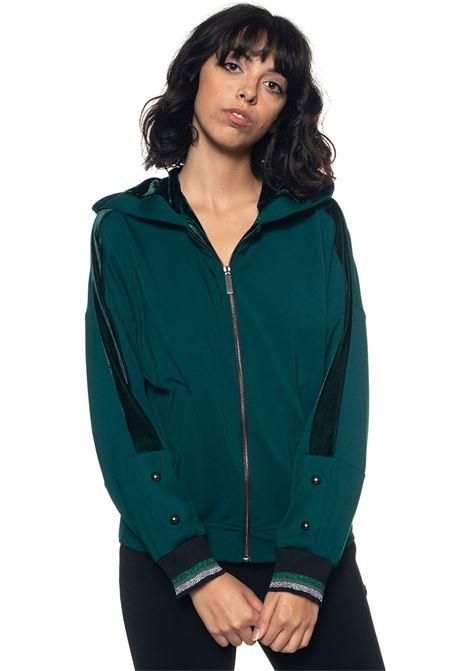 Jordan Sweatshirt with zip Mariella Rosati | 20000055 | JORDANT002