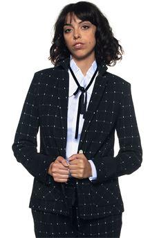 Short jacket with 2 buttons Mariella Rosati | 3 | RAINY001