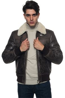 Leather harrington jacket MINORONZONI 1953 | -276790253 | MRF1810J18C60
