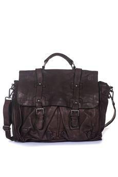 Big bag in leather MINORONZONI 1953 | 20000006 | MRF181B116C60