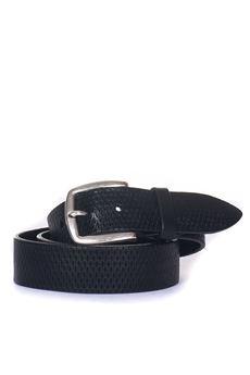 Leather belt MINORONZONI 1953 | 20000041 | MRF181C001C99