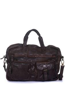 Leather bag MINORONZONI 1953 | 20000006 | MRF182B111C60