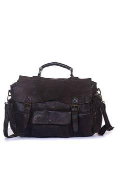 Big bag in leather MINORONZONI 1953 | 20000006 | MRF182B112C60
