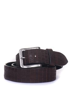 Leather belt MINORONZONI 1953 | 20000041 | MRF183C017C60