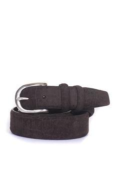 Cintura in camoscio MINORONZONI 1953 | 20000041 | MRF185-C025C60