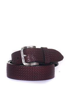 Leather belt MINORONZONI 1953 | 20000041 | MRF188C043C23