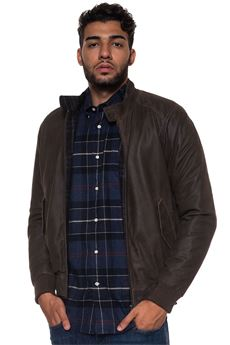 Leather harrington jacket MINORONZONI 1953 | -276790253 | MRF188J215C60