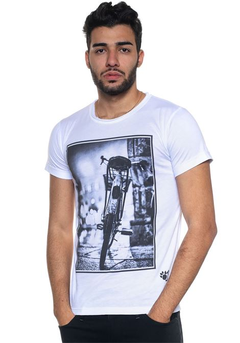 T-shirt VELOCIPIDE Oji | 8 | VELOCIPIDEBIANCO