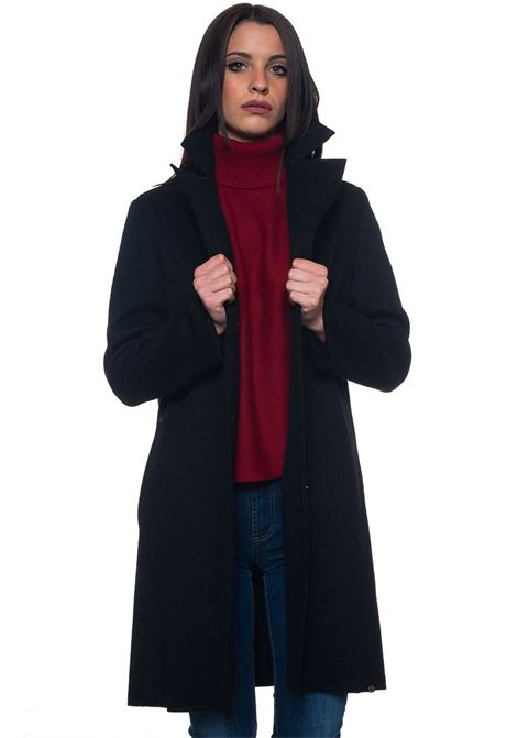 Radar coat with concealed button placket Pennyblack | 17 | RADAR-31903