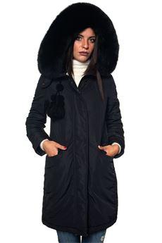 Aponi long down jacket Peuterey | 20000057 | APONI_FR_FUR-PED2930NER