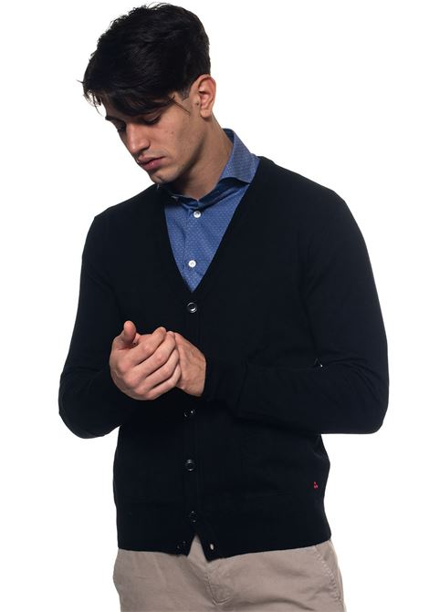 Berties Cardigan with buttons Peuterey | 39 | BERTIES_03-PEU2914NER