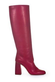 Stivale in pelle Red Valentino | 76 | QQ0S0B43-UTLI47