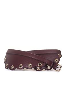Leather belt Red Valentino | 20000041 | QQ2T0A11-EAVW53