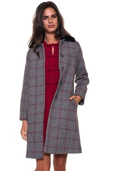Woolen coat Red Valentino | 17 | QR3CA1P5-3SD0NO