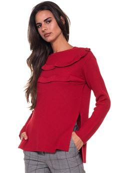 Round-necked pullover Red Valentino | 7 | QR3KC1A6-3W8C61