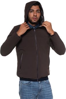 Brus hooded harrington jacket Refrigue | -276790253 | BRUS-R57489HYT2MBROWN/TAUPE