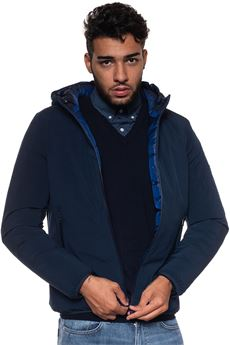 Brus hooded harrington jacket Refrigue | -276790253 | BRUS-R57489HYT2MNIGHT BLUE/ROYAL