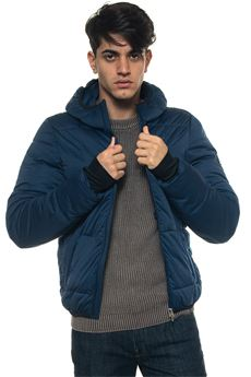 Fald hooded down jacket Refrigue | -276790253 | FALD-R57528MJT2MNIGHT BLUE