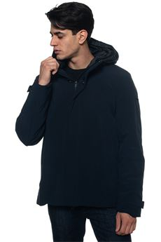 Lonn hooded harrington jacket Refrigue | -276790253 | LONN-R57534SLT2MDARK BLUE