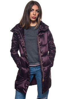 Tuva long down jacket Refrigue | 20000057 | TUVA-R69311RKT2WBURGUNDY
