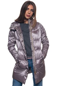 Tuva long down jacket Refrigue | 20000057 | TUVA-R69311RKT2WSATELLITE
