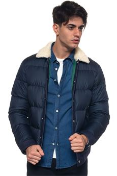 ABETONE quilted jacket Roy Rogers | -276790253 | ABETONE LAMB DOWN JACKETBLU