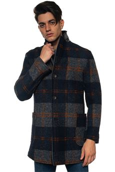 Coat with 3 buttons Roy Rogers | 17 | COAT CHECK COATEDBLU