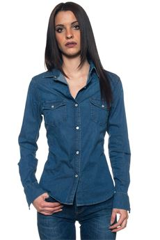 JOLI Denim blouse Roy Rogers | 6 | SHIRT JOLI-DENIMSTOCK