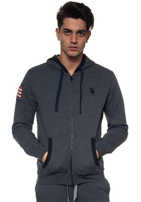 Zip sweatshirt with hood US Polo Assn | 20000055 | 50444-49151189
