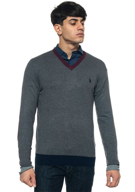 Pullover collo a V US Polo Assn | 7 | 50531-51958189