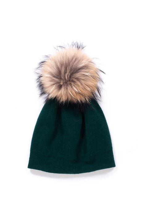 Cappello in maglia con pon-pon Vanisé | 5032318 | V21609BOSCO