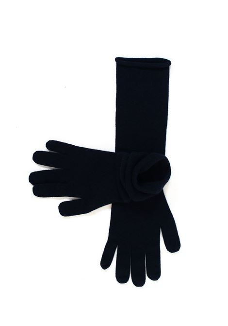 Knit gloves Vanisé | 34 | V21611BLU