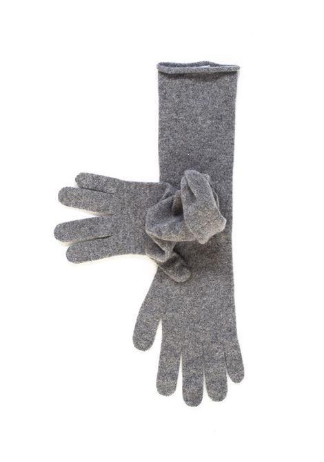 Knit gloves Vanisé | 34 | V21611GRIGIO MEDIO