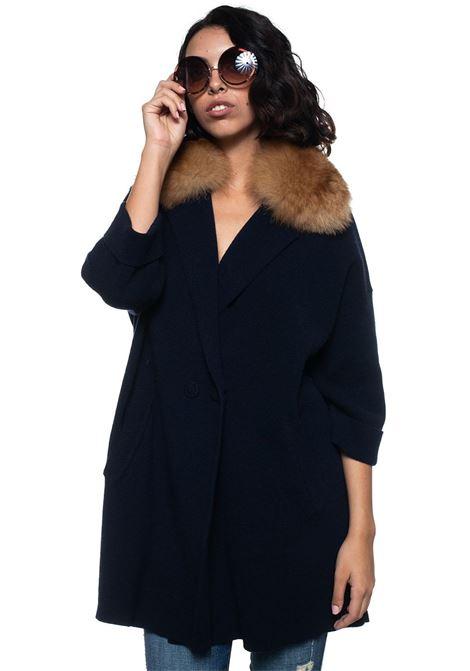 Cashmere coat Vanisé | 17 | V23782BLU