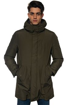 Hooded harrington jacket Woolrich | 20000057 | WOCPS2734-CN03DAG