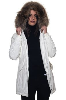 W'S Luxury Arctic hooded jacket Woolrich | 20000057 | WWCPS2604-CF408270