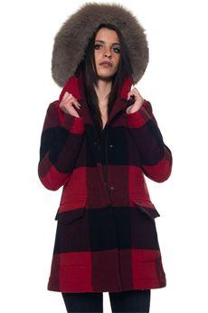 W'S MCKENZIE CHECK jacket Woolrich | 20000057 | WWCPS2662-DW055321