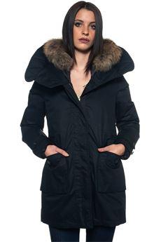 W'S Scarlett hooded jacket Woolrich | 20000057 | WWCPS2685-LM10100