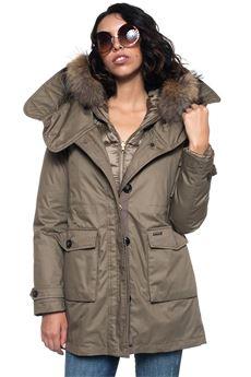 W'S Scarlett parka hooded jacket Woolrich | 20000057 | WWCPS2685-LM106202