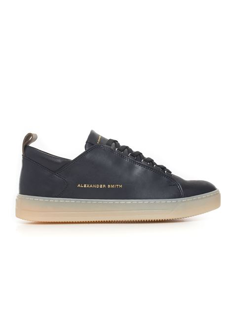 Leather sneakers with laces Alexander Smith | 5032317 | H75507BLACK