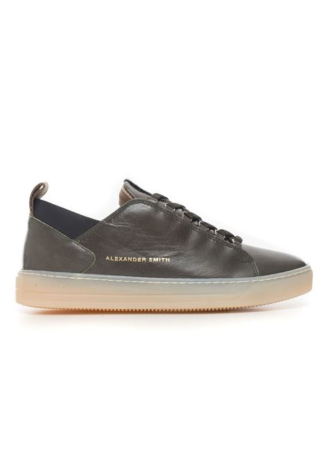 Sneakers in pelle con lacci Alexander Smith | 5032317 | H75507MILITARY