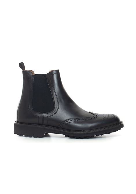 Leather shoe boot Angelo Nardelli | 12 | 82230-G847199
