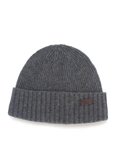 English rib hat pattern Barbour | 5032318 | BAACC1555GY15