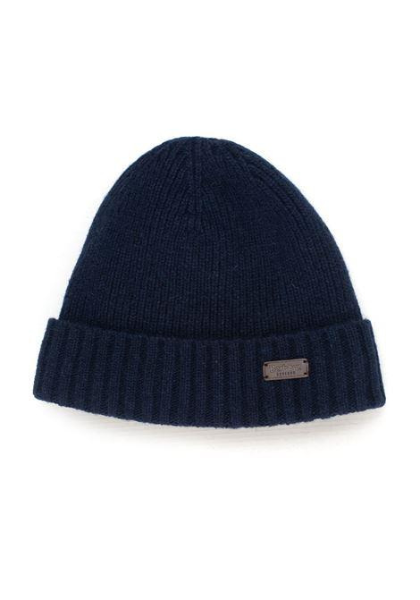 English rib hat pattern Barbour | 5032318 | BAACC1555NY31