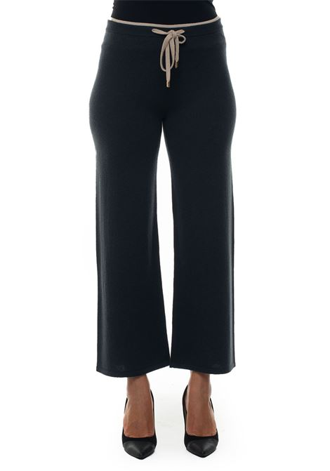 Wool trousers Blue Les Copains | 9 | 0J10022107
