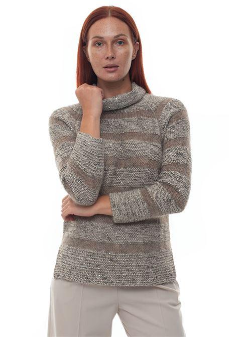 Wool jumper Blue Les Copains | 7 | 0J12203728