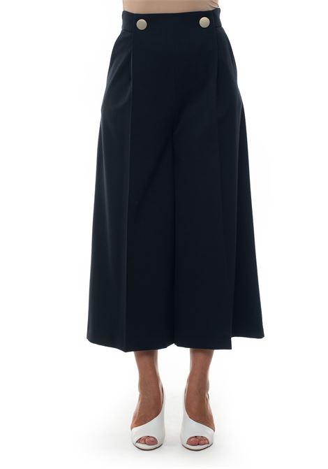 Wide trousers Blue Les Copains | 9 | 0J31100190