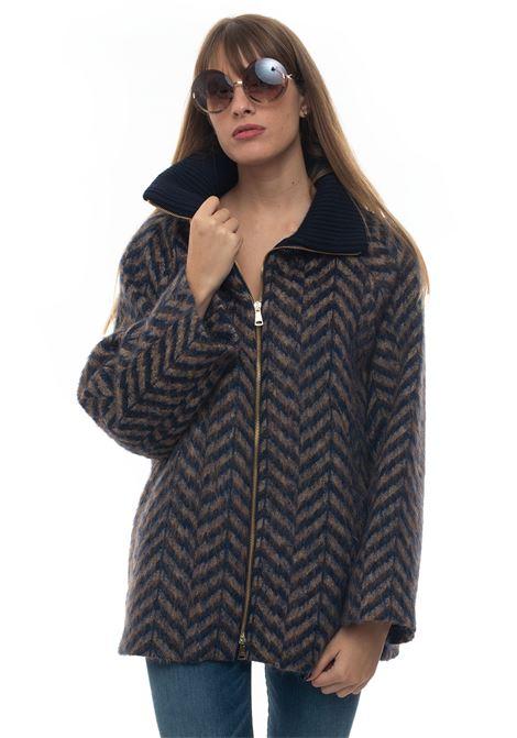 Coat Blue Les Copains | 1631859650 | 0J80403190