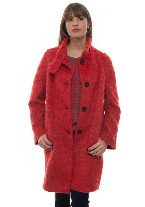 Cappotto in lana Blue Les Copains | 17 | 0J80903401