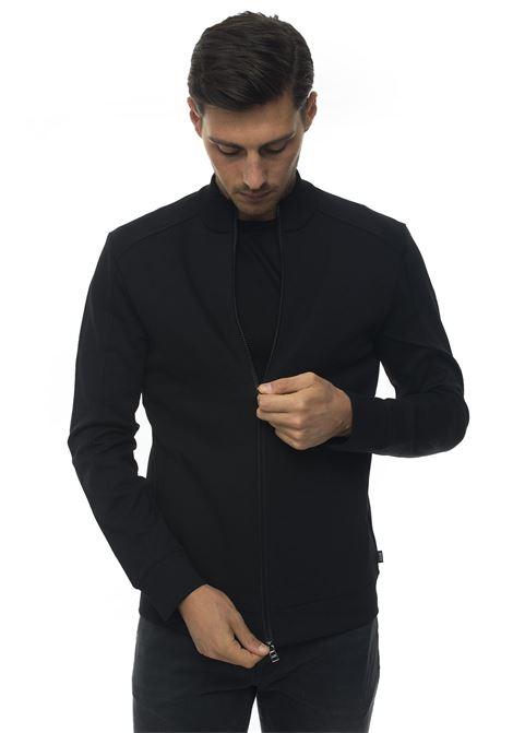 Sweatshirt with zip BOSS | 20000055 | SHEPHERD-50413992001